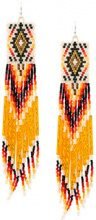 Jessie Western - short beaded drop earrings - women - glass - OS - MULTICOLOUR