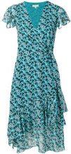 Michael Michael Kors - Vestito a fiori - women - Polyester - XS, M, L - BLUE