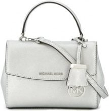 Michael Michael Kors - Borsa a tracolla 'Ava' - women - Leather - One Size - METALLIC