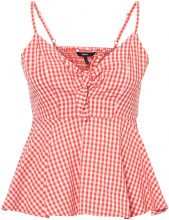 VERO MODA Chequered Singlet Women Red