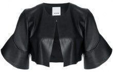 Pinko - Giacca 'Istillarez' - women - Polyester/Polyurethane - 46 - BLACK