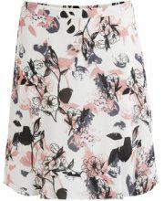VILA Ruffle Detailed Skirt Women White