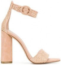 Kendall+Kylie - Sandali 'Giselle' - women - Leather/Polyester/Polyurethane/rubber - 9, 7, 6.5, 7.5, 8.5, 6 - NUDE & NEUTRALS