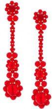 - Simone Rocha - Orecchini con pendente 'Victorian' - women - glass - Taglia Unica - di colore rosso