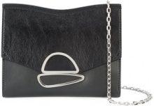 Proenza Schouler - Small Curl Chain Clutch - women - Calf Leather - One Size - BLACK