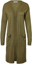 NOISY MAY Long Knitted Pullover Women Green