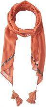 PIECES Tjicka, Scialle Donna, Orange (Tawny Orange), Taglia unica