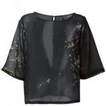 Minimarket - 'Suffix' blouse - women - Polyester - 34, 38, 40 - BLACK