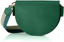 Liebeskind Berlin- Dxbag Volume, Borse a tracolla, Donna Verde (Emerald Green), 7x24x18 cm (B x H x T)