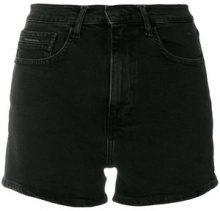 Ck Jeans - Shorts in denim - women - Cotone/Spandex/Elastane - 28, 30 - Nero