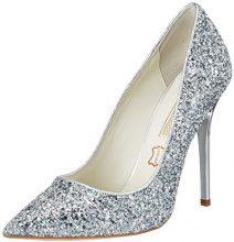 Buffalo 11335-269 L Glitter, Scarpe con Tacco Donna, Argento (Silver120), 40 EU