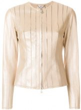 Desa Collection - Giacca - women - Leather/Polyester/Spandex/Elastane - 34, 36, 38 - NUDE & NEUTRALS