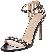 Primadonna 112110221LM, Scarpe con Cinturino alla Caviglia Donna, Nero, 39 EU