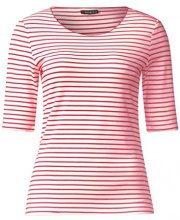 Street One 311842, T-Shirt Donna, Mehrfarbig (Colada Pink 21263), 46
