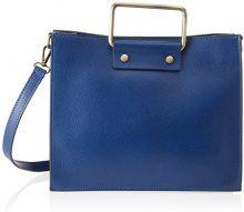 Chicca Borse 8806, Borsa a Spalla Donna, Blu (Blue), 28x23x13 cm (W x H x L)