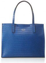 Guess Hobo, Borsa a Spalla Donna, Blu (Blue), 17.5x33x41 cm (W x H x L)