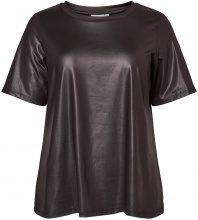 JUNAROSE 2/4 Sleeved T-shirt Women Black