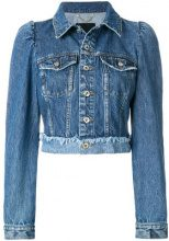Diesel - De-Vivien jacket - women - Cotton - M, L - BLUE
