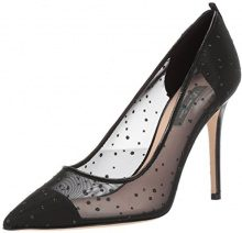 SJP by Sarah Jessica Parker Glass, Scarpe con Tacco Donna, Nero (Black Raindrop Fabric), 36 EU