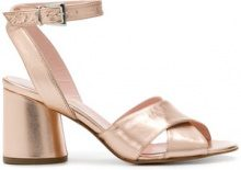 Anna F. - ankle strap sandals - women - Leather - 37, 37.5, 39, 40, 41 - NUDE & NEUTRALS