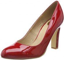 Buffalo C473a-1 P2010l Patent, Scarpe con Tacco Donna, Rosso (Red), 38 EU
