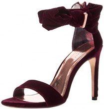 Ted Baker Torabel, Scarpe con Cinturino Alla Caviglia Donna, Rosso (Burgundy), 37 EU