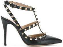 Valentino - Valentino Garavani Rockstud pumps - women - Leather - 35, 35.5, 36, 38.5 - BLACK