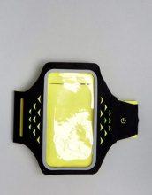 Hama Active Sports - Fascia da braccio con luce al LED per smartphone - Multicolore