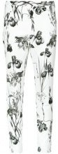Andrea Marques - printed skinny trousers - women - Cotton/Spandex/Elastane - 36, 40, 42, 44 - unavailable