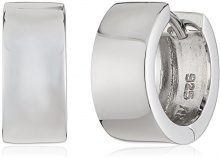 ZEEme - Orecchini a cerchio unisex, argento sterling 925, cod. 500210123R