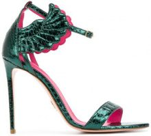 Oscar Tiye - Malikah sandals - women - Leather/rubber - 35, 39, 40, 41 - GREEN
