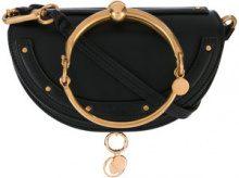 Chloé - Nile mini Minaudiere clutch bag - women - Calf Leather/Lamb Skin - One Size - BLACK