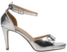 Sandali con tacchi alti e fascette ampie