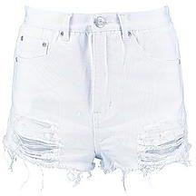 Carla pantaloncini di jeans con strappi esagerati