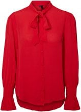 VERO MODA Feminine Shirt Women Red