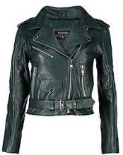 Elizabeth Leather Biker Jacket