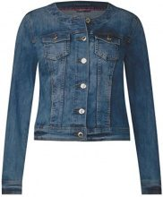 Street One 210675 Rose, Giacca in Jeans Donna, Blau (Authentic Indigo Blue Wash 11327), 44