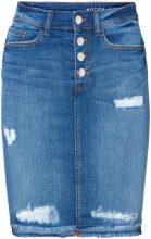 NOISY MAY Lexi Hw Denim Skirt Women Blue