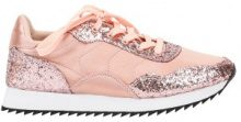 Sneakers con parti glitter