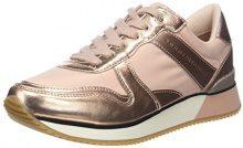 Tommy Hilfiger Metallic Sneaker, Scarpe da Ginnastica Basse Donna, Rosa (Dusty Rose 502), 37 EU