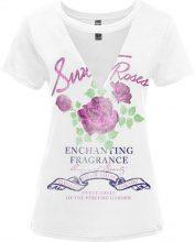 T-shirt con mesh (Bianco) - RAINBOW
