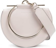 Salvatore Ferragamo - Borsa a mano rotonda - women - Calf Leather - OS - Color carne & neutri