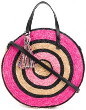 Rebecca Minkoff - Borsa tote 'Circle' - women - Hemp - One Size - PINK & PURPLE