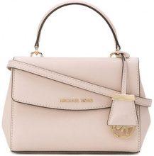Michael Michael Kors - logo crossbody bag - women - Calf Leather/Leather - OS - PINK & PURPLE