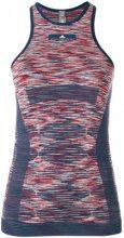 Adidas By Stella Mccartney - Canotta da yoga - women - Polyamide/Polyester/Spandex/Elastane - XS, M, L, S - BLUE