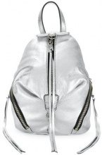 Rebecca Minkoff - Zaino 'Convertible Mini Julian' - women - Leather - OS - METALLIC
