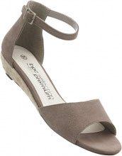 Sandalo in pelle (Marrone) - bpc selection premium