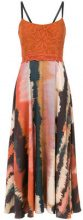 Martha Medeiros - printed midi dress - women - Cotone/Acetate/Viscose/Polyester - 38, 40, 46 - unavailable
