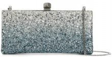 Jimmy Choo - Celeste clutch - women - Brass - One Size - Metallizzato