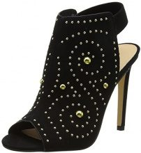 OfficeHumble W - Peep Toe Donna, Nero (Black (Black)), 37